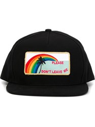 Saint Laurent 'Please Don't Leave Me' Cap Black