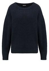 Filippa K Jumper Grape Melange Dark Blue