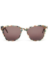 Prism 'Disturbing London' Sunglasses Nude And Neutrals