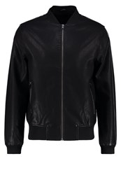 New Look Faux Leather Jacket Black