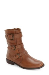 Corso Como Women's 'Kandace' Moto Boot Tobacco Leather