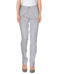 Noa Noa Trousers Casual Trousers Women Light Grey