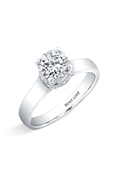 Bony Levy 'Bridal' Diamond Pave Semi Mount Ring Nordstrom Exclusive White Gold