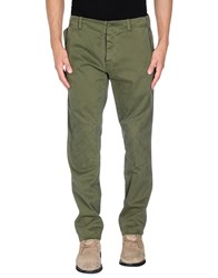 Officina 36 Denim Denim Trousers Men Military Green