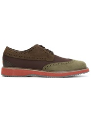 Swims Brogue Shoes Brown