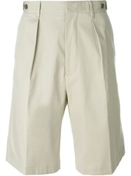Msgm Chino Shorts Nude And Neutrals