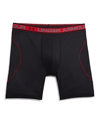 Under Armour Iso Chill Boxerjock Boxer Briefs Black Red