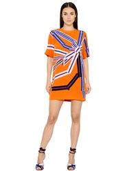 Emilio Pucci Printed Crepe De Chine Dress