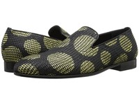Alexander Mcqueen Large Dot Slipper Black Gold