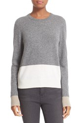 Equipment Women's 'Shirley' Colorblock Cashmere Sweater