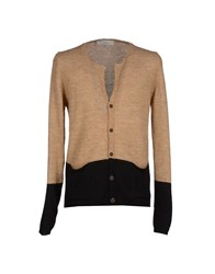 Officina 36 Knitwear Cardigans Men Beige