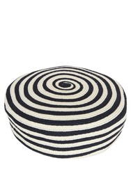 Gucci Striped Hemp Beret