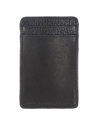 Marc By Marc Jacobs Small Leather Goods Document Holders Men Black