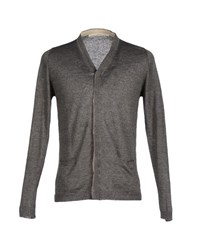Spina Knitwear Cardigans Men Grey