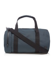 Fred Perry Matte Finish Barrel Bag Navy