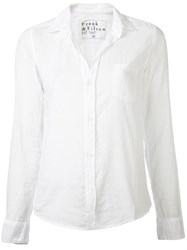 Frank And Eileen 'Barry' Shirt White