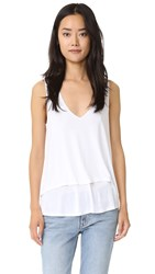 Lanston Double Layer Tank White