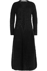 Alberta Ferretti Cardigan With Mohair Black