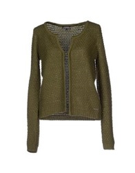 L.A. Blue Rose Cardigans Military Green