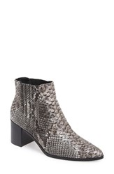 Charles By Charles David Women's 'Unity' Pointy Toe Boot Black Multi Snake Print