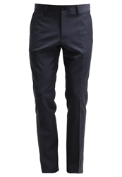 Esprit Collection Manchester Slim Fit Suit Trousers Dark Navy Dark Blue