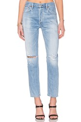 Citizens Of Humanity Liya Premium Vintage High Rise Classic Torn