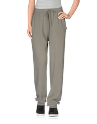 Stefanel Trousers Casual Trousers Women Military Green