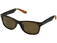 Toms Beachmaster Polarized Matte Tortoise Fashion Sunglasses Brown