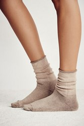 Little River Sock Mill Solid Slouch Anklet