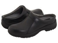 Dansko Wil Black Smooth Leather Men's Clog Shoes
