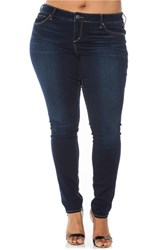 Plus Size Women's Slink Jeans 'The Skinny' Stretch Denim Jeans Amber