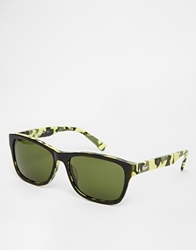 Lacoste Wayfarer Sunglasses Yellow