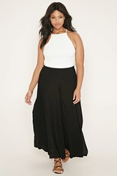 Forever 21 Plus Size Flared Pants Black