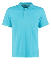 Tom Tailor Regular Polo Shirt Clear Blue Atoll Turquoise