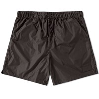 Acne Studios Perry Face Nylon Swim Short Black