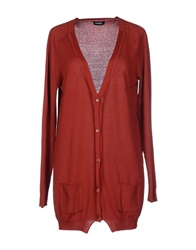 Max And Co. Cardigans Brick Red