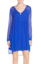 Women's Charlie Jade Silk Chiffon Shift Dress
