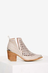 Jeffrey Campbell Cromwell C Leather Bootie Taupe