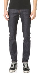 Naked And Famous Super Skinny Guy 11Oz Stretch Selvedge Jeans Indigo