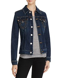 True Religion Western Dusty Denim Jacket In Lonestar