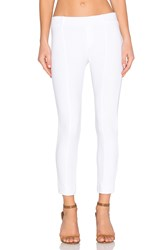 Three Dots Shirley Cropped Pant White