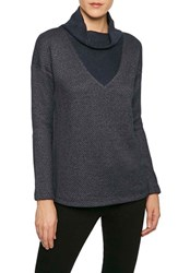Sanctuary Women's 'Dunaway' Cowl Neck Pullover Magnetic