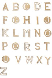 Chloe Alphabe Gold Plaed Walle Charm