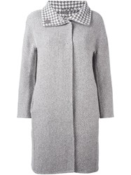 Herno Reversible Coat Grey