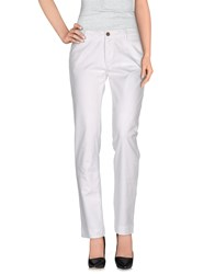 Fay Denim Denim Trousers Women White