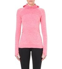 Sweaty Betty Elite Seamless Run Top Red Admiral Flame