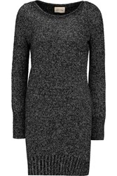 American Vintage Grizzly Bay Stretch Knit Sweater Dress Black