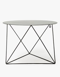 Eric Trine Octahedron Side Table Black