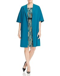 Marina Rinaldi Teseo Open Coat China Blue