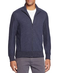 Billy Reid Heathered Track Jacket Indigo